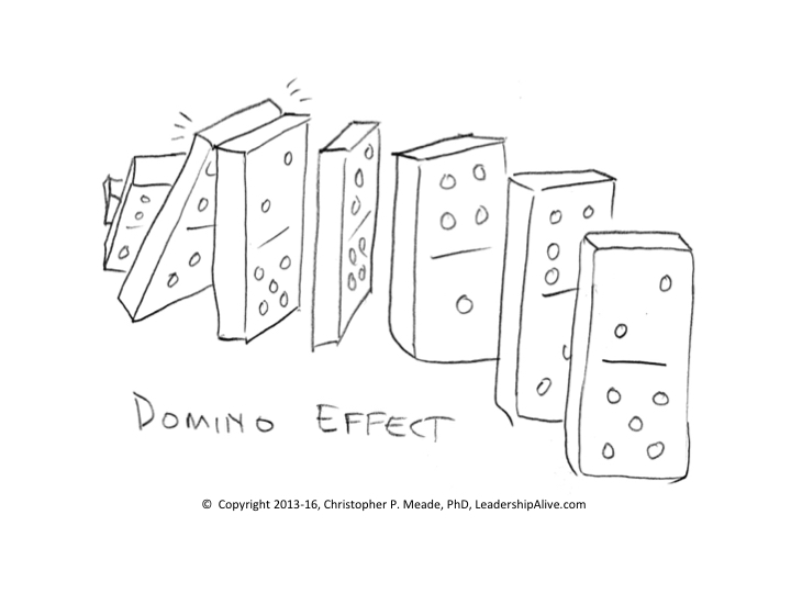 domino effect chris meade