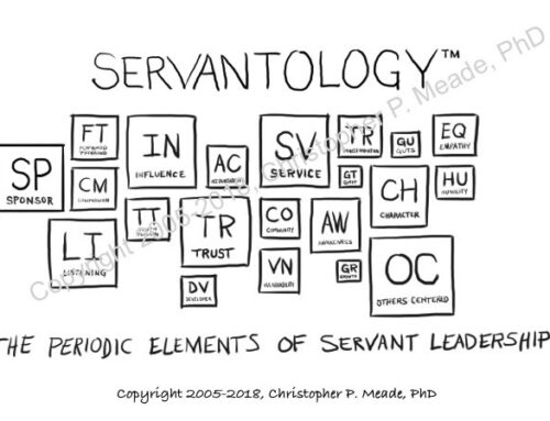 Servantology: The Periodic Elements of Trusted Servant Leadership